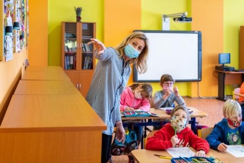 Druhá třída - prezenční výuka