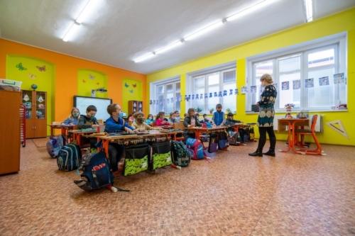První třída - prezenční výuka